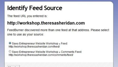 WordPress Wednesday – How to Set Up A Feedburner Feed on Your Site
