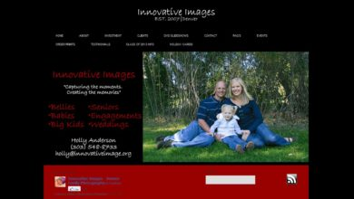 Website Review – Innovative Images