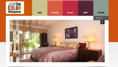 Website Review – Jeanette Chasworth, The Color Whisperer