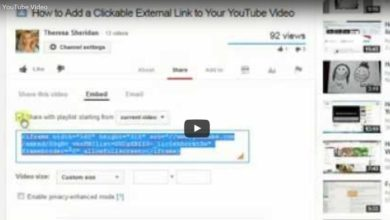 How to Embed a YouTube Video on Your Website or Blog