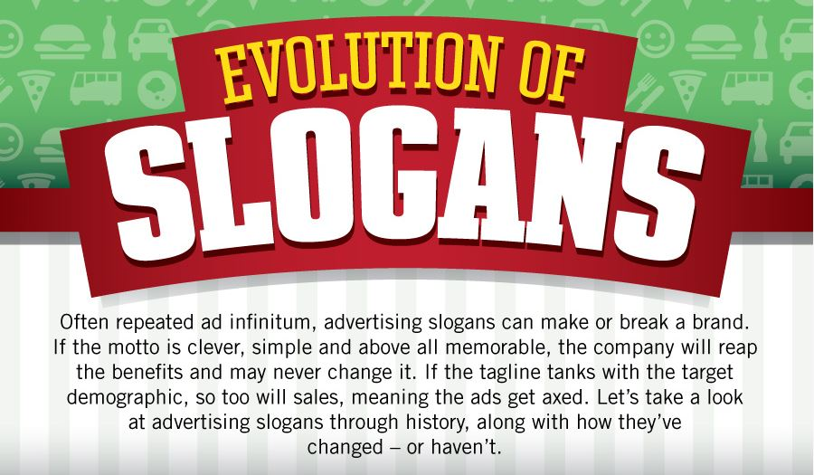 evolution of slogans
