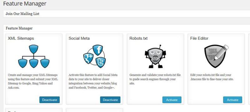 robots.txt file in AIO SEO