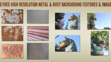 Free High Resolution Metal and Rust Background Textures and Images