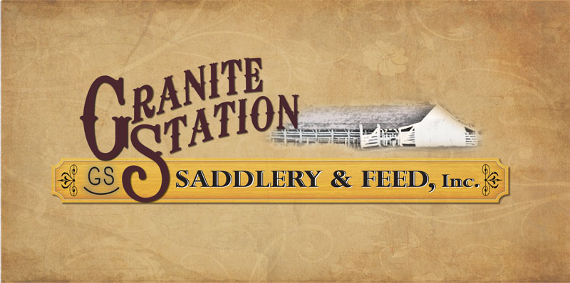Granite Station Saddlery Logo