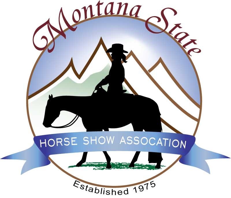 Montana State Horse Show Association Logo