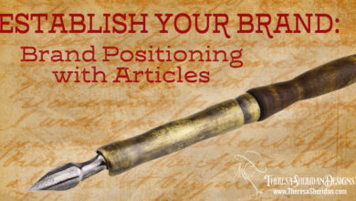 Establish Your Brand: Brand Positioning with Articles – The Branding Pen Article 6.4.3