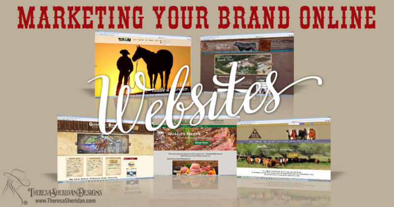 Marketing your brand online with websites
