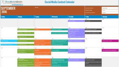 How to Use a Social Media Content Calendar [Free Download!]