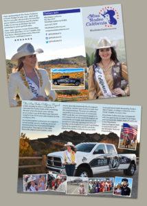 Miss Rodeo California brochure