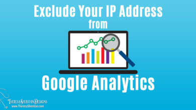 Exclude Your IP Address from Google Analytics