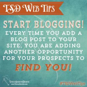 Start Blogging!