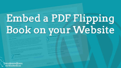 How to Embed a Dynamic PDF Flipping Book in Your WordPress Site