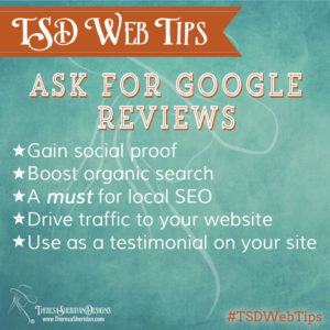Ask for Google Reviews