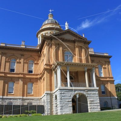 Auburn California historic state capital building - Theresa Sheridan Designs
