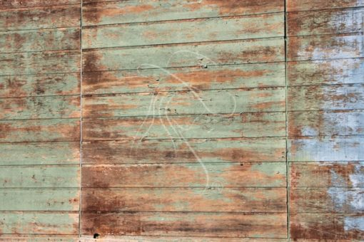 Blue and green distressed wood texture background - Theresa Sheridan Designs