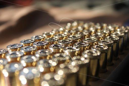 Close up of ammunition with bokeh effect - Theresa Sheridan Designs