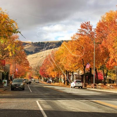 Fall colors in North Idaho - Theresa Sheridan Designs