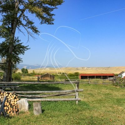 Grant-Kohrs Historic Ranch, Montana - Theresa Sheridan Designs