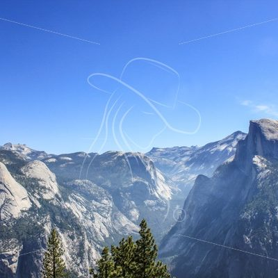 Half Dome from Glacier Point, Yosemite National Park - Theresa Sheridan Designs