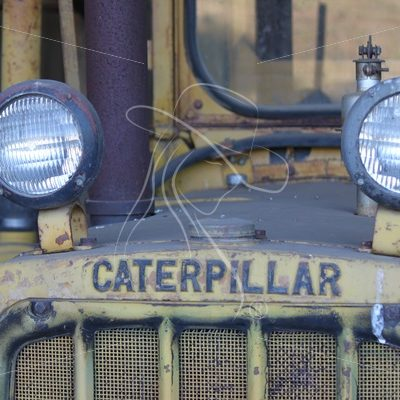 Vintage Caterpillar farm equipment - Theresa Sheridan Designs