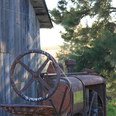 Vintage farm equipment - Theresa Sheridan Designs