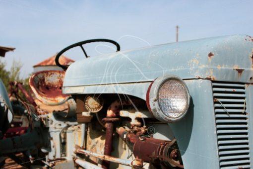 Vintage tractor - Theresa Sheridan Designs