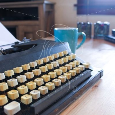 Vintage Typewriter Keyboard - Cowgirl Media