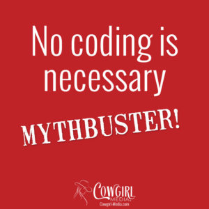 no coding is necessary