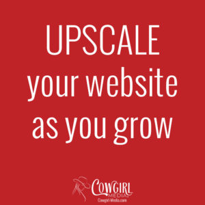 Upscale your website as you grow