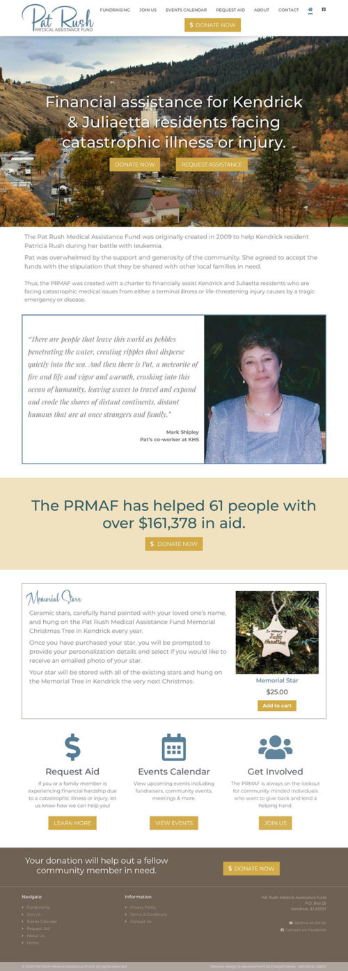 Pat Rush Medical Assistance Fund