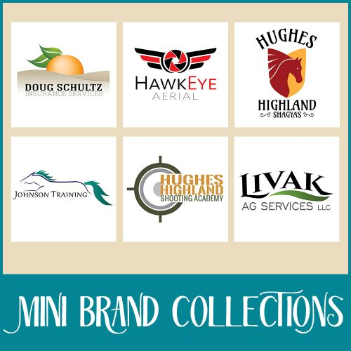mini brand logo collections